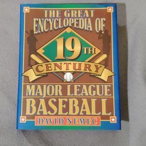 ✴final price✴ Encyclopedia of 19th century  MLB